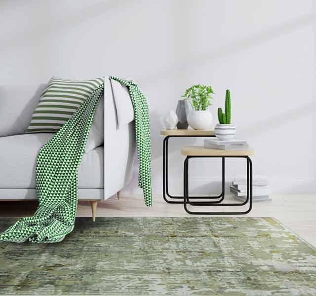 Wohnzimmer, interior, grün, khaki, Möbel, kissen, Vintage, Paul klee